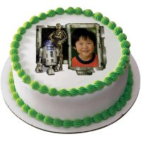 Star Wars - R2-D2 and C-3PO Photo Cake Frame