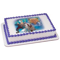 Frozen - Northern Lights Way Too Cool Photo Cake Frame